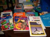 I have a variety of Math TE and Resources; many