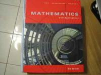 Title: Mathematics with Application Author: Margaret L.