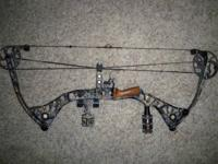 I am selling my Mathews Drenalin compound bow. I bought