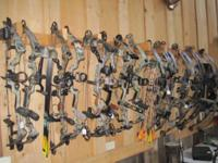 We have a large selection of used bows in stock.
