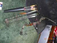 Mathews MQ1 fully loaded and ready to hunt. $250.00 obo