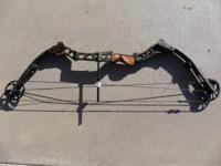 For Sale: Mathews MQ1 Bow, RH, trebark camo, excellent