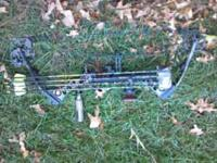 Mathews Outback RH 27.5 Draw 70# comes with rest,