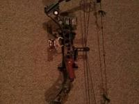 I have a Mathews wilderness rh 28in draw 60-70lb limbs.