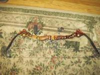 Mathews Ovation it is like new, 28in at 65%, 28.5in at