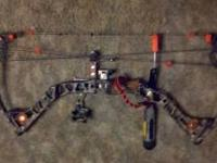 2010 Mathews reezen 6.5 29/70 343fps ibo comes with