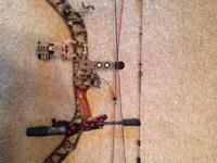 Mathews Reezen that comes with Mathews 3 arrow quiver,
