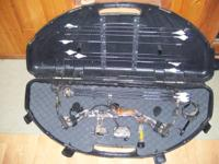 "bow is 28""and 65 lb draw and package includes : bow,"