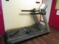 "Matrix Model No. T7XE Treadmill AC110 15"" LCD, Serial"