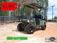 We have these two electric hunting carts available.