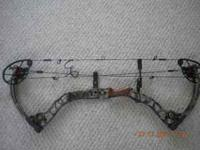 Matthew Monster compound bow, 27 in adjustable draw
