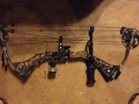 Matthews drenalin compound bow Come with:  The bow