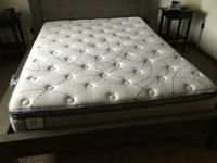 Sealy Plush Pillow Top Queen MattressLightly used and