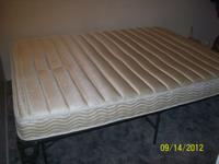 I have a mattress and frame for sale, I am in a bad