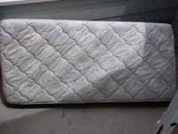 Super Single Mattress, Box Spring and Frame for sale.