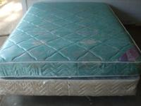 QUEEN Mattress and Box springs $40 Good shape I have a