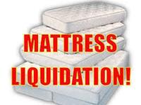 closeout's on all mattress inventory. half off retail.