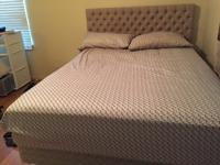Queen size sealy mattress with separate 5 inch memory