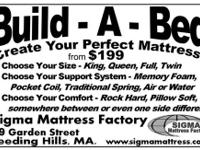 Sigma Mattress Factory hand crafts each mattress using