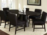 This Maurice dining room table set comes with the