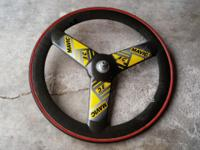 Mavic 3G Tri-Spoke Carbon Fiber Tubular Track Disc