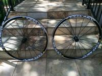 use(ridden gently 4 or 5 times). These wheels are in
