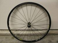I am offering my front Mavic Crossmax wheel with