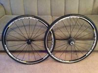 This is a set of Mavic Ksyrium Equipe wheels. They are