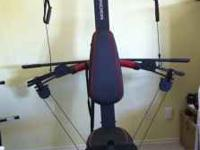 FOR SALE MAX WEIDER HOME GYM WITH UP TO 240 LBS.