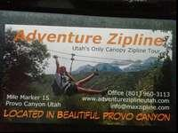 1 time use Passes for the zipline up provo canyon.