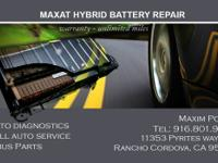 Maxat Hybrid Repair are specializing in hybrid repair: