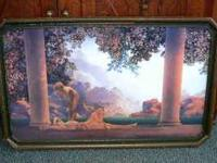 "1922 LITHOGRAPH ""DAYBREAK"" MAXFIELD PARRISH 21'' X 32"