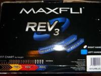 Maxfli Rev 3 Gold Golf Collection Blue (RH). Developed
