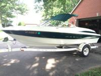 I have for sale a good 2000 Maxum 18' open bow sport