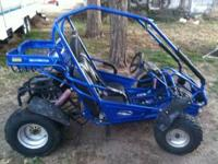 This is a maxxam 150 dune buggy go cart frame minus the