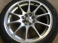 I have a set of four Maxxim wheels with tires for sale,