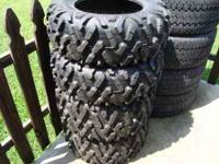 These tires are (2)27/9.00/14 and (2)27/11.00/14. They