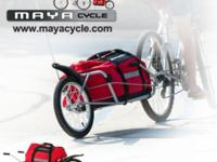 Most versatile bicycle trailer. Perfect for city