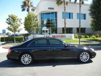SUPER CLEAN MAYBACH 57 S NO ACCIDENTS-PAINTWORK NEVER