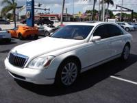 This 2004 Maybach 57 4dr Sedan features a 5.5L V12 PFI