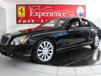 2006 Maybach 57SFerrari-Maserati of Fort Lauderdale is