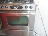 Maytag 30'' Slide-In Gas Range $800 BRAND NAME: MAYTAG