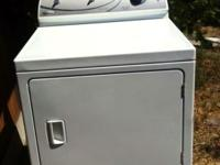 HERE'S A MAYTAG DRYER. GOOD cONDITION. GAS DRYER. $120