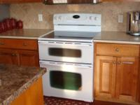 Maytag Gemini double oven with convection/bake in the