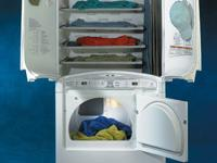 This dryer is amazing! Has lower dryer compartment for