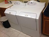 I am selling a set of front loader washer and dryer.