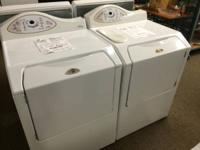 Fancy Maytag Neptune Washer and Dryer Pair. This is a