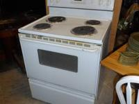 for sale in our store Maytag White Range This is used