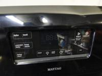 Maytag Flat Glass Top Electric Stove Convection Oven,