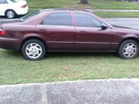 2000 Mazda 626 4 cylinder, no a/c but heat 173.000